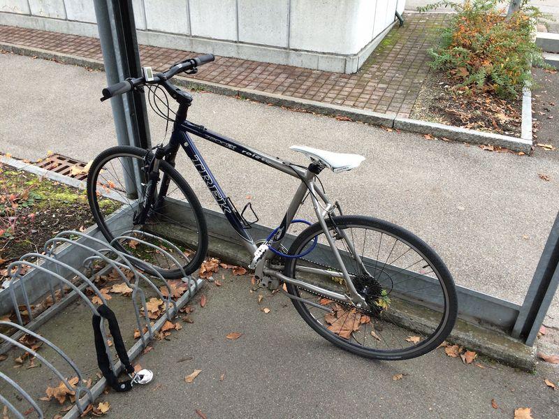 Poorly Locked Bikes